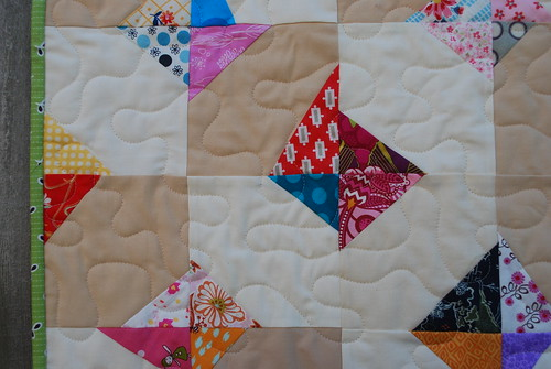 Scrappy Diamond Quilt