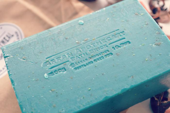 arran apothecary bath brick
