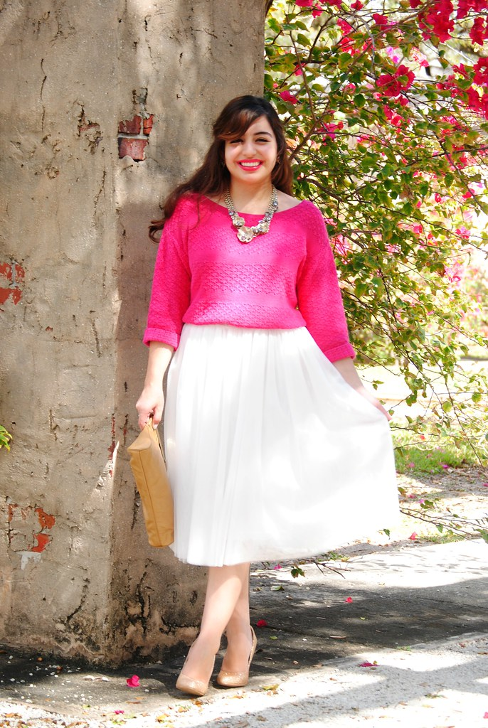 super girly Valentine's Day outfit