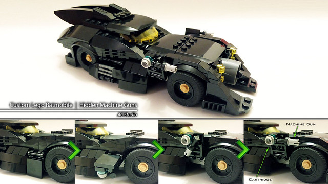 Batman Lego | Custom Batmobile - 3rd design upgrade
