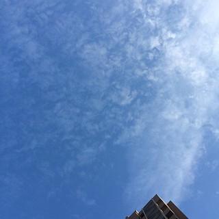 今日は久しぶりに快晴… #sky #イマソラ でした。