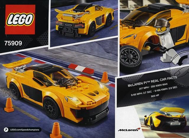 Review 75909 McLaren P1