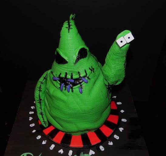 Oogie Boogie Cake by Isabella Telles
