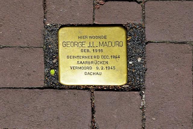 Struikelsteen George Maduro