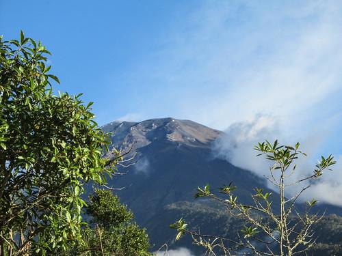 Baños: le volcan Tungurahua