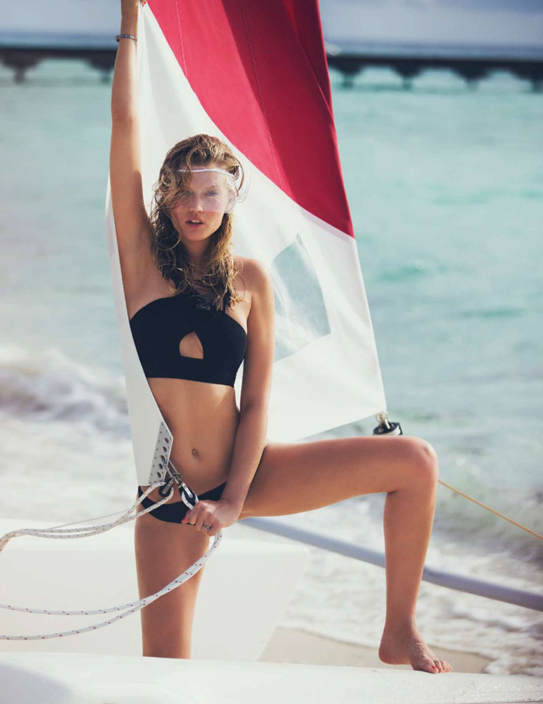 Тони Гаррн — Фотосессия для «Elle» FR 2016 – 10