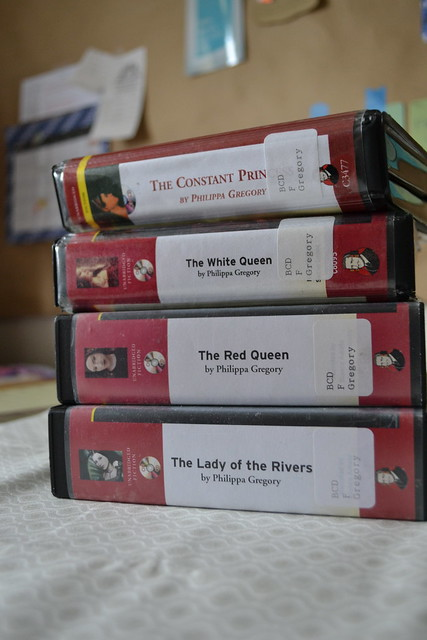 Recent library audiobooks