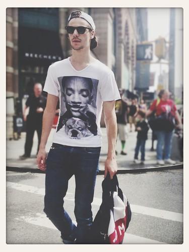 street fashion in New York City
