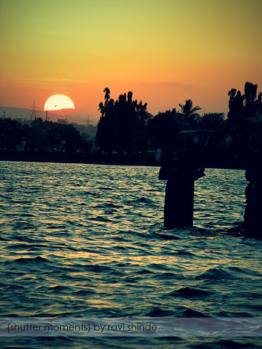 sunset lake canon maharashtra kolhapur finegold rankala flickraward ringexcellence