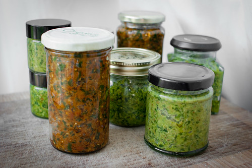 Wild garlic pesto: two ways