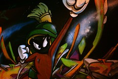 Marvin the Martian wall art