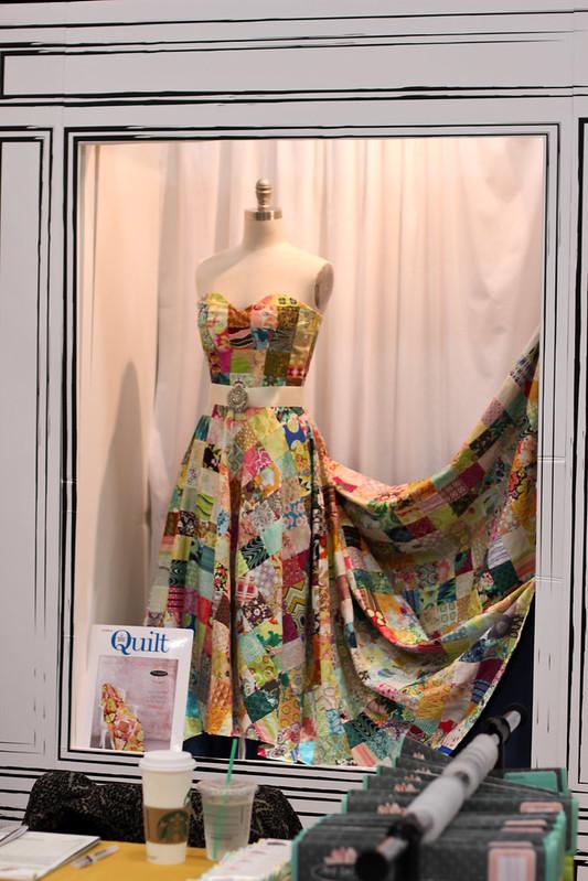 Quilt Market - Art Gallery Fabrics' Booth