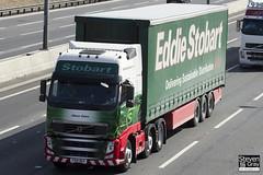 Volvo FH 6x2 Tractor - PX61 BGV - Alison Claire - Eddie Stobart - M1 J10 Luton - Steven Gray - IMG_7559