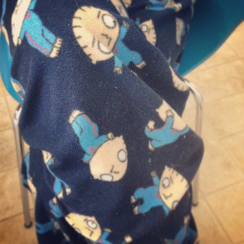 Day150 Cold enough for Stewie pajama pants 5.30.13 #jessie365