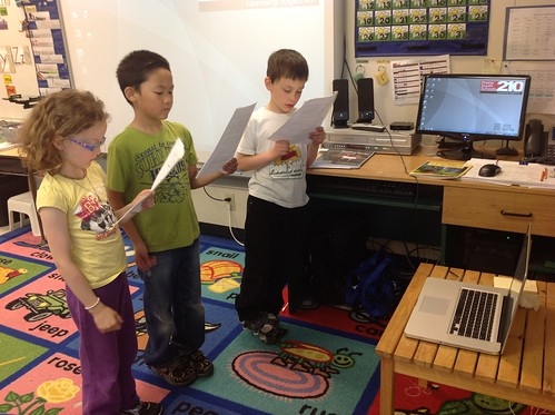 Reader's Theatre with Skype