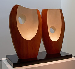 Barbara Hepworth - Two Forms White