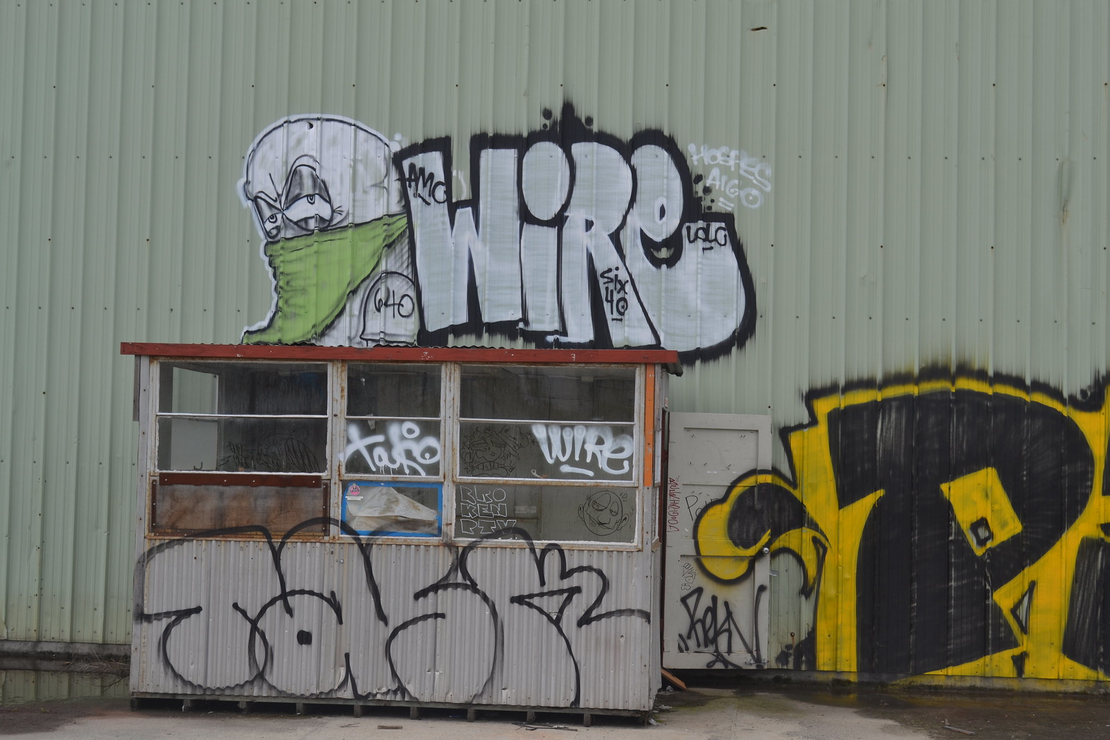 LOGO, WIRE, 640, PTV, STM, LOL, Street Art, Ras Terms, BDS, BSK, 7UP, GHOST OWL, FRANK,
