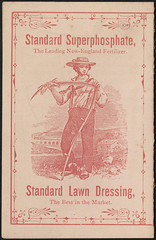 1884 - Standard Fertilizer Company's Food for Plants. (back)