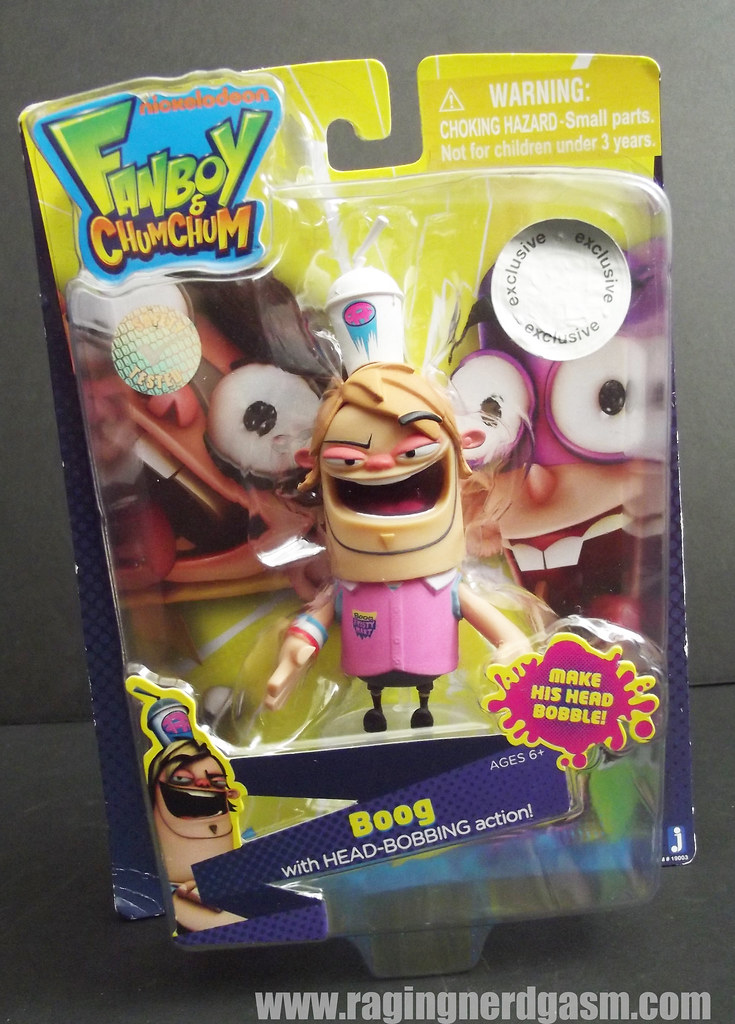 Fanboy and Chumchum Figure Boog
