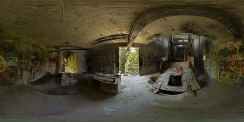 abandoned concrete nikon sigma f28 10mm equirectangular d7000