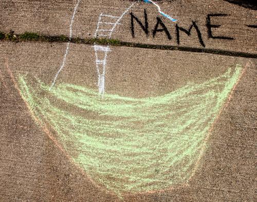 Sidewalk Chalk at Frost Park