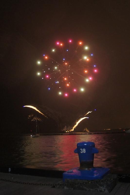 Navy Pier Fireworkds