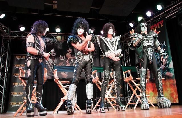 Eric Singer, Paul Stanley, Tommy Thayer, Gene Simmons