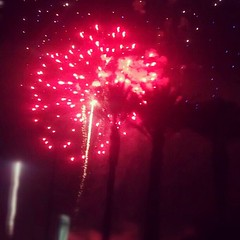 Red Fire work