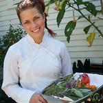 Hans Herzog Bistro Chef with Herbs - New Zealand