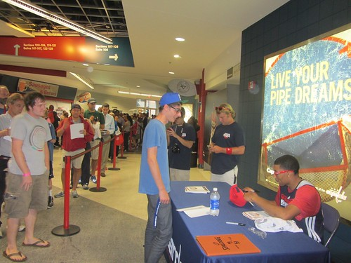 otto porter, washington wizards, summerfest, adam mcginnis, truth about it, fans, nba, tai, verizon center, monumental sports