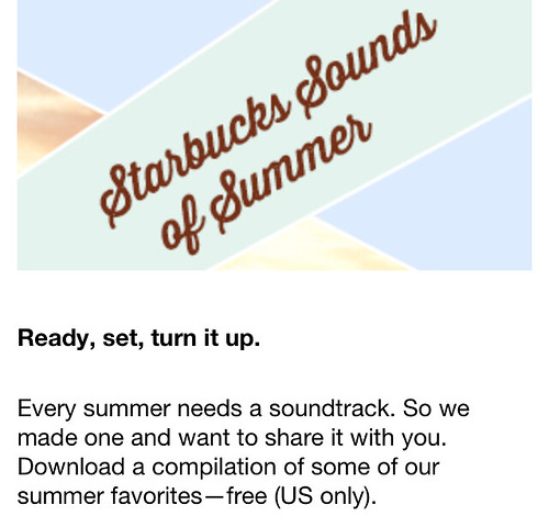 Starbucks Sounds of Summer
