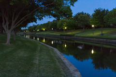 Valley Ranch Canals at Night by Rikki DeWees