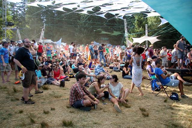 festival lawn