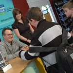 Charlie Higson meets his fans |