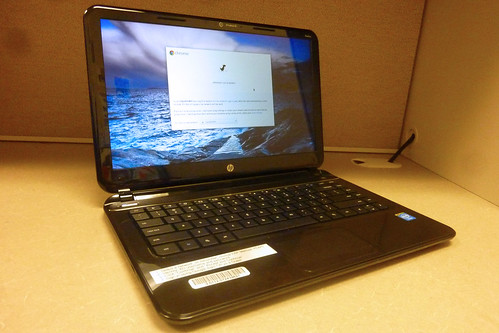 Image of Chromebook laptop