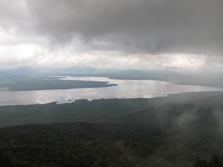 Flagstaff Lake from West Peak