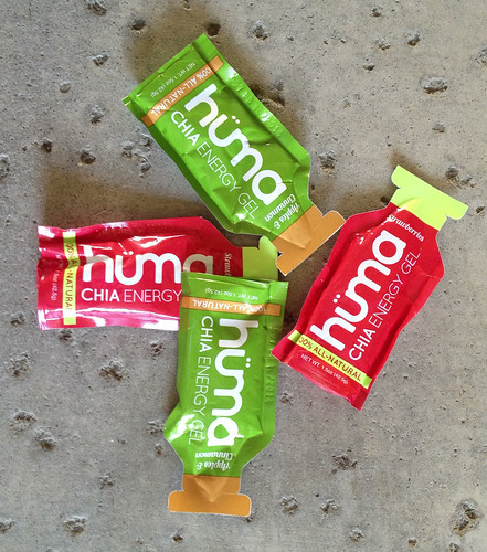 huma chia energy gel triathlon