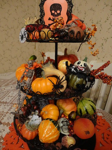 3 tiered halloween