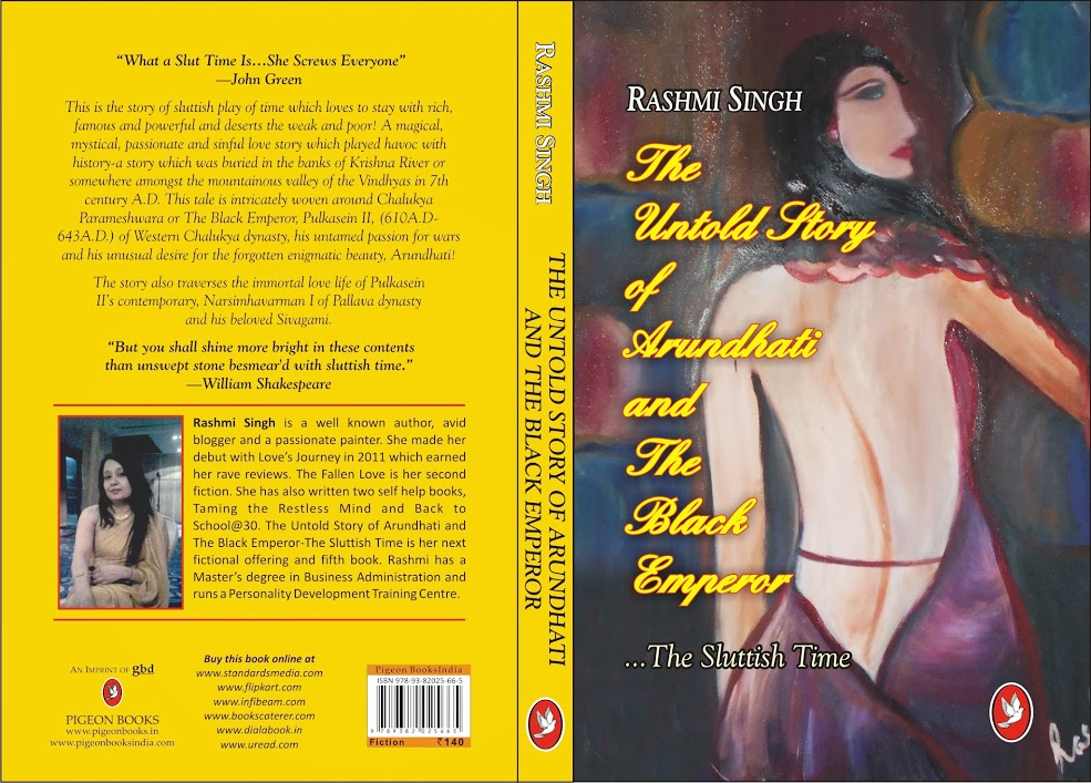 The Untold Story of Arundhati and The Black Emperor… The Sluttish Time by Rashmi Singh Book Review