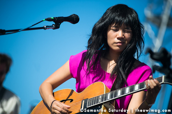 Thao and the Get Down Stay Down @ Way Over Yonder, Santa Monica, CA 10/6/13