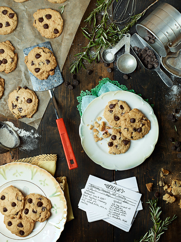 Rosemary Chocolate Chip Cookies