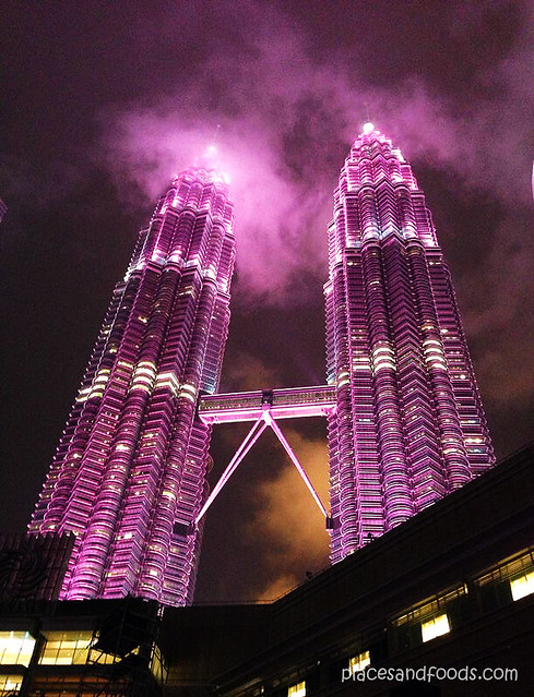 pink twin tower