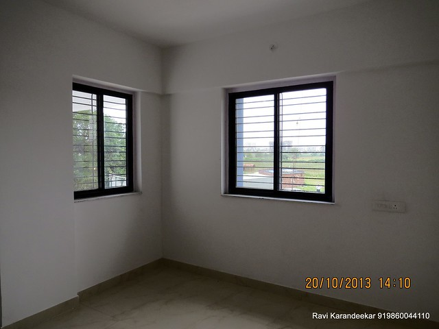 Bedroom with 2 Windows - Handing Over Ceremony of Sanjeevani Developers' Sangam at Sus on Sunday 20th October 2013
