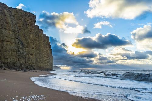 autumn cloud southwest beach clouds sunrise sand waves wind cloudy wave windy dorset bridport westcountry westbay wessex eastbeach stjude eastcliff westdorset ukstorm broadchurch
