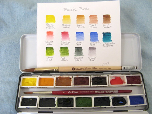 Another Basic Watercolor Palette