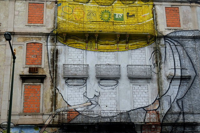 mural crono project | blu | lisbon