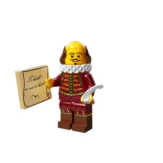 LEGO The Movie 71004 - Collectible Minifigures - William Shakespeare