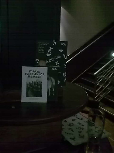 ICA stall in wetherspoons