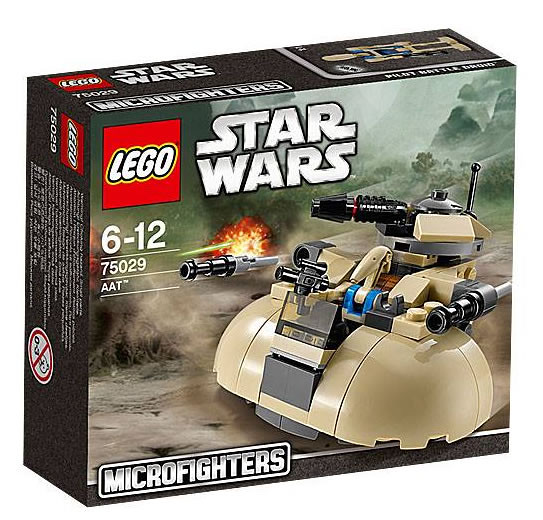 LEGO Star Wars MicroFighters 75029 - AAT