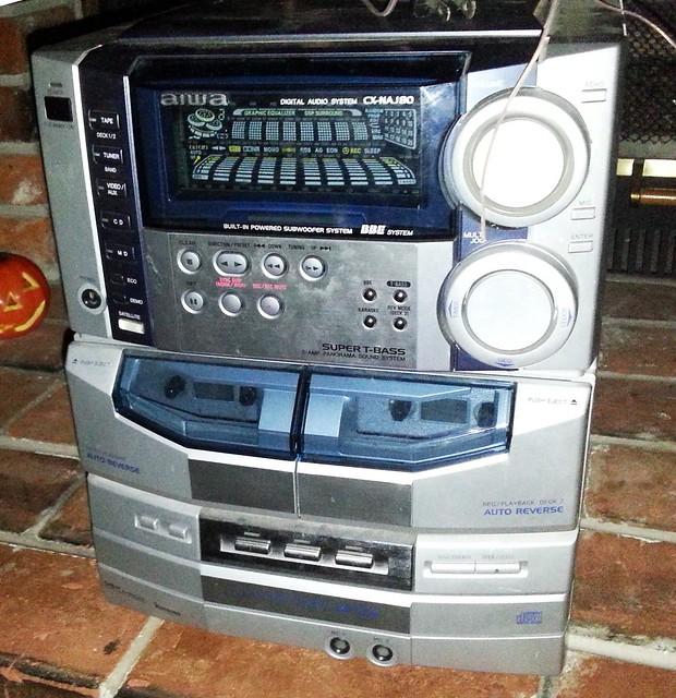 Aiwa digital Audio system Cx na707 manual